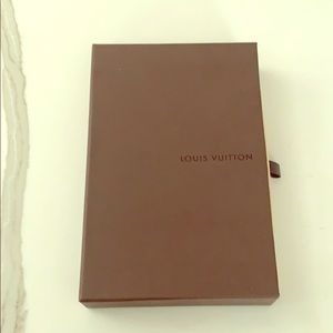 Vintage Louis Vuitton wallet box